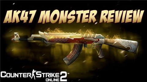 AK47 Monster Test (Counter-Strike Online 2)