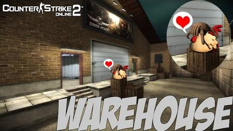 CSO2 Warehouse (Sudden Attack Crossover)