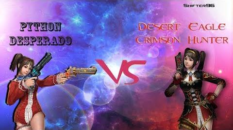 CSO CSN Z Weapon Review Python Desperado vs Desert Eagle Crimson Hunter
