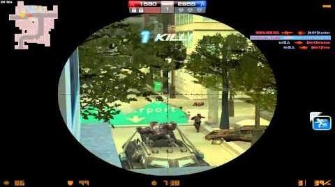 Counter-Strike Online - Urban Assault GamePlay (Battle Rush)