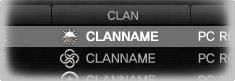 Clannamebold