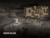 Joseon village bg