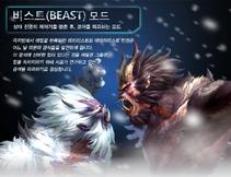Beast koreaposter