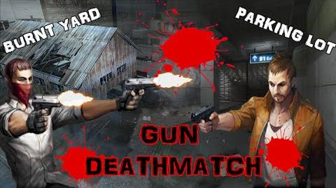 Gun Deathmatch - Burnt Yard and Parking Lot (CS Online)