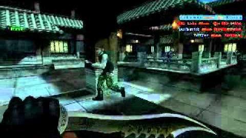 Counter Strike Online SG MY Soul Bane Serrated Blade