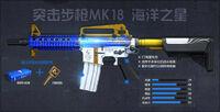 Mk18mod1cobalt poster china