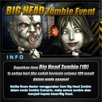 Bighead zombie indonesia poster