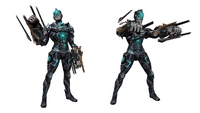 Cyborg eternity laser fist