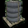 Hide tirestack