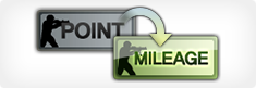 Point to mileage converter