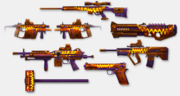 Season 4 weapons