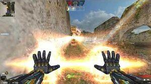 카스온라인 인피니티 레이저 피스트 (CSO infinity Laser Fist)