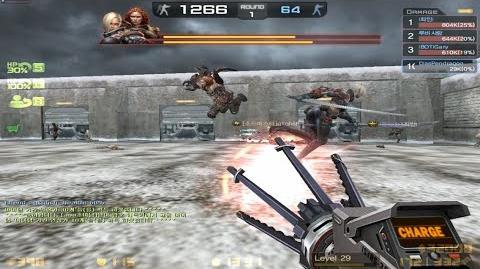 CSO New Weapon Laser Minigun (Gameplay)
