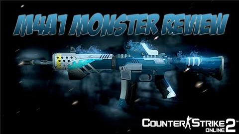 M4A1 Monster Test (Counter-Strike Online 2)