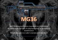 Mg36 turkey poster