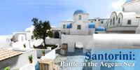 Santorini poster sgp