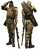 Bot sniper dummy