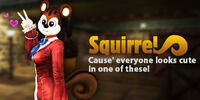 Squirrel costume poster sgp
