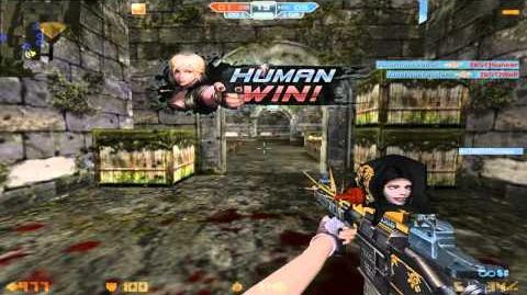 CS Online - Janus-5 & Compound Arrow Gameplay (Bot Zombie)