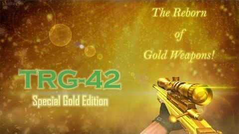CSO CSN Z-Weapon Review SAKO TRG-42 (Special Gold Edition)