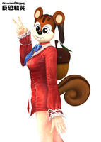 Squirrel costumes poster china