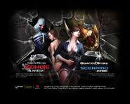 Zombie scenario mutation wallpaper