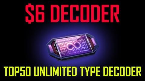 TOP50 Unlimited Decoder ($6 each!)
