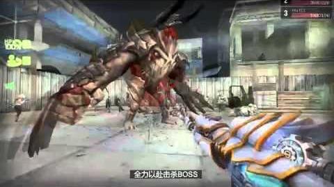 Boss Chase - M4A1 Dark Knight, AK-47 Paladin, Laser Minigun, Dual Uzi