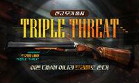 Triplethreat poster korea
