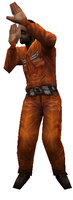 Hostage cower