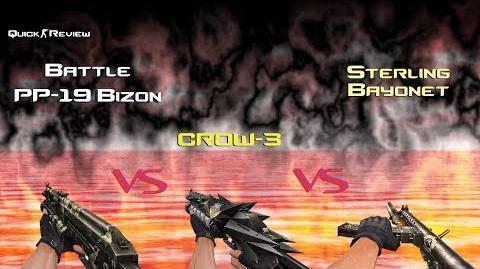 CSO CSN Z Battle PP-19 Bizon vs CROW-3 vs Sterling Bayonet (Quick Review)