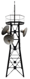 Communication tower icon