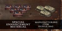 Enhancement material craft duffel bag SGMY poster