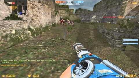 CSO Korean - New Gun Air Buster - Bot Zombie