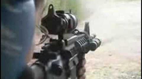 M4 Carbine Firing