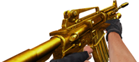 M4a1gold shoot