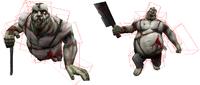 Heavy zombie hitbox origin