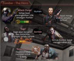Zombie the hero