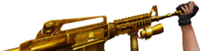 M4a1gold add silencer