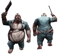 Normal heavy zombie model