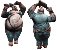 Heavy zombie normal dummy