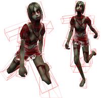 Speed zombie hitbox origin