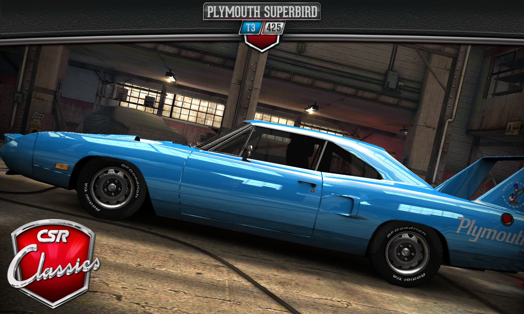 Plymouth Superbird | CSR Classics Wiki | FANDOM powered by Wikia