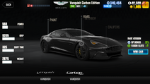 Discontinued Vanquish Carbon Edition