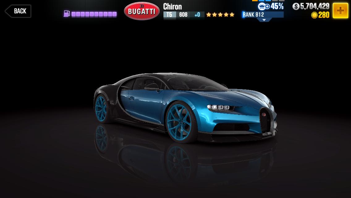 Bugatti Chiron Csr Racing Wiki Fandom Powered By Wikia