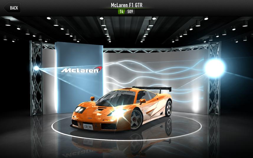 CSR1 F1 GTR