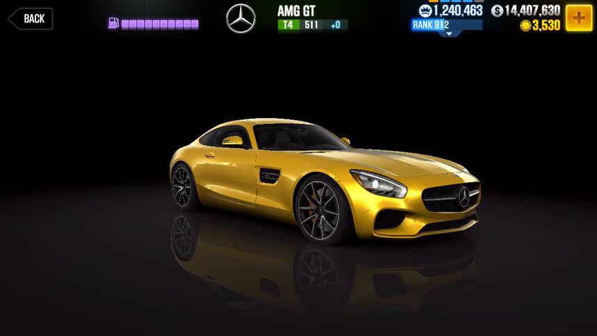 CSR2 AMG GT