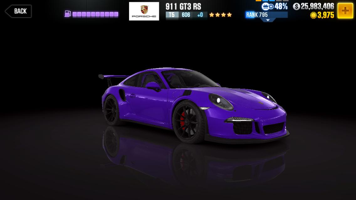 Porsche 911 Gt3 Rs Csr Racing Wiki Fandom Powered By Wikia