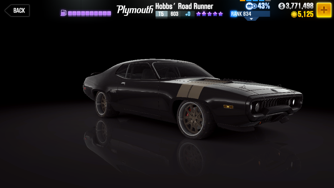 Hobb S Plymouth Road Runner Csr Racing Wiki Fandom
