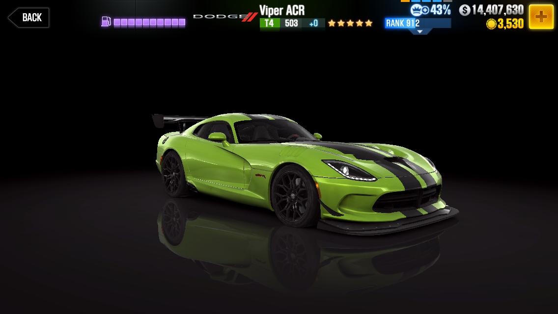 Dodge Viper ACR | CSR Racing Wiki | FANDOM powered by Wikia